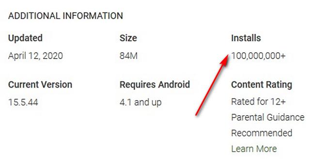 TikTok在Play商店下载量突破10亿