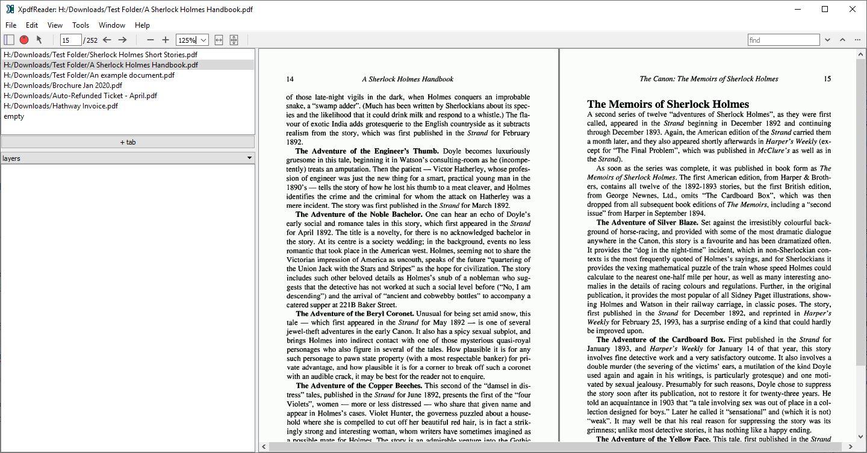 [Win/Lin] Xpdfreader:轻便快速的开源PDF阅读器