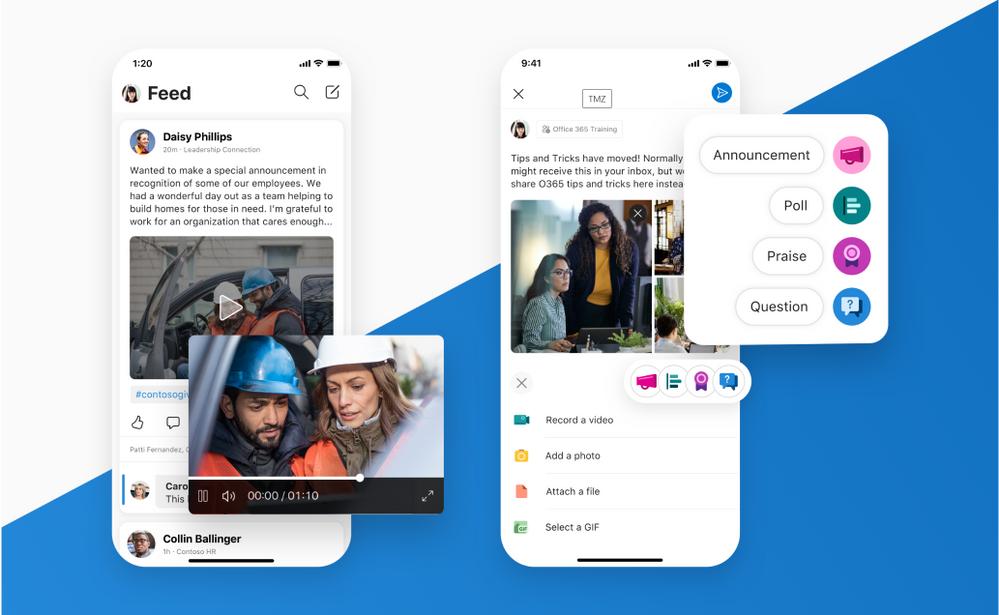 经过重新设计的Yammer移动应用现已可用于iOS和Android 1