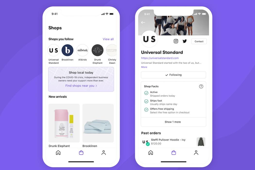"""电商平台Shopify发布独立购物应用""""Shop"""""""