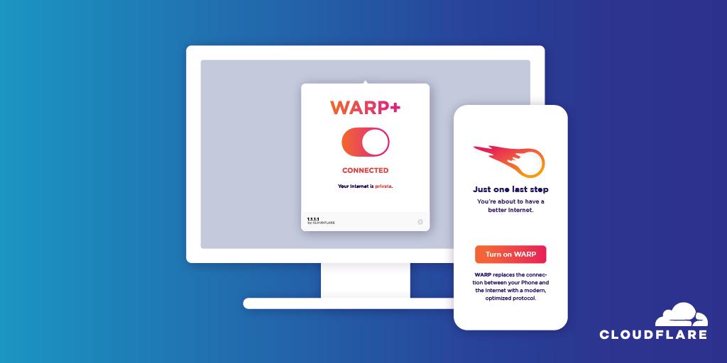 Cloudflare的免费WARP VPN进入Windows和MacOS 1