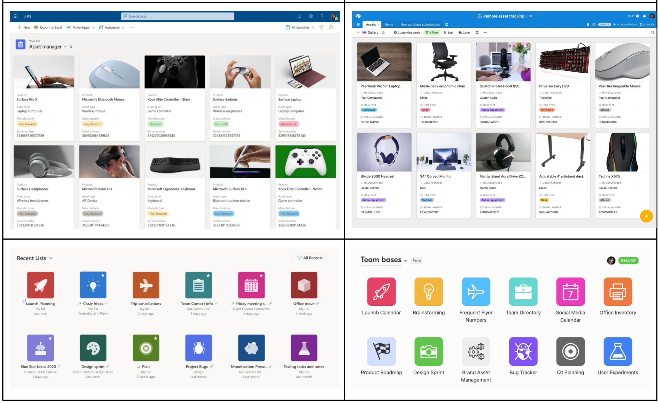 微软列出AirTable