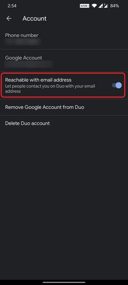 google duo电子邮件地址