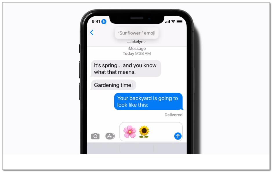 苹果推介语音控制消息发送功能