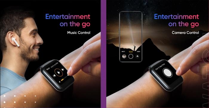 Realme手表控件