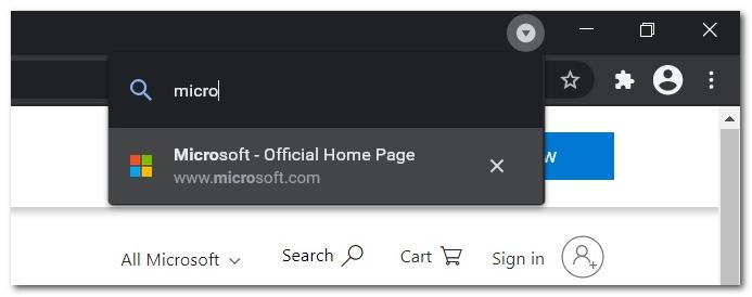 Chrome「标签页搜索」功能即将出炉