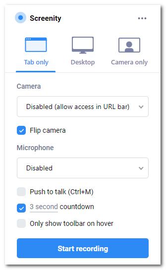 Screenity:优秀的Chrome开源录屏扩展(附.crx)