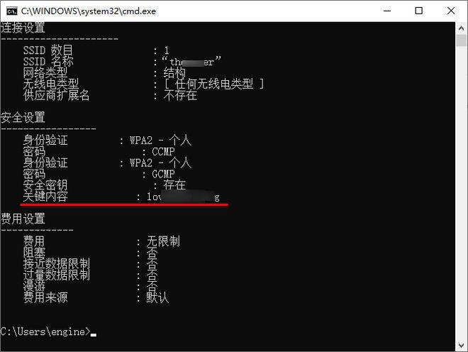 [技巧] 在Windows 10上查询WiFi密码