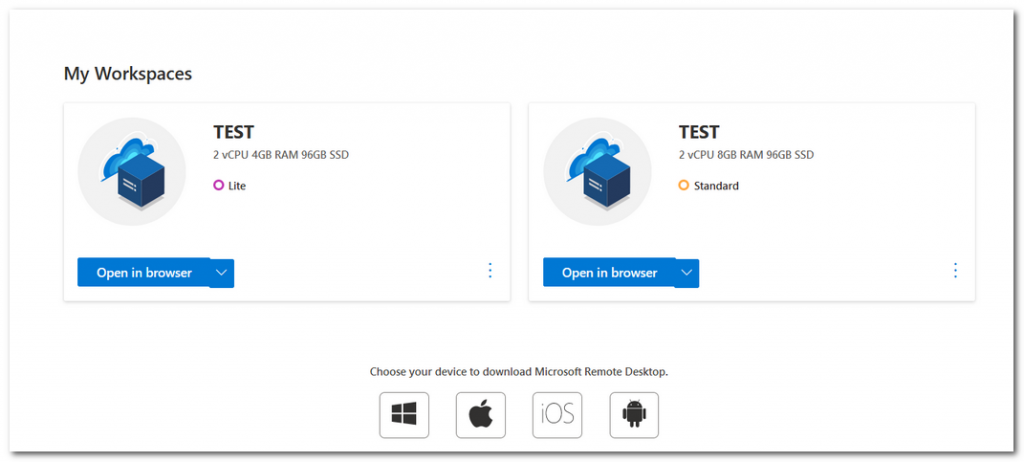 微软云电脑Cloud PC再传新消息:API支持,全平台可访问
