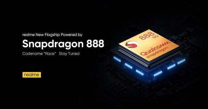 Realme宣布搭载骁龙888的新机Realme Race