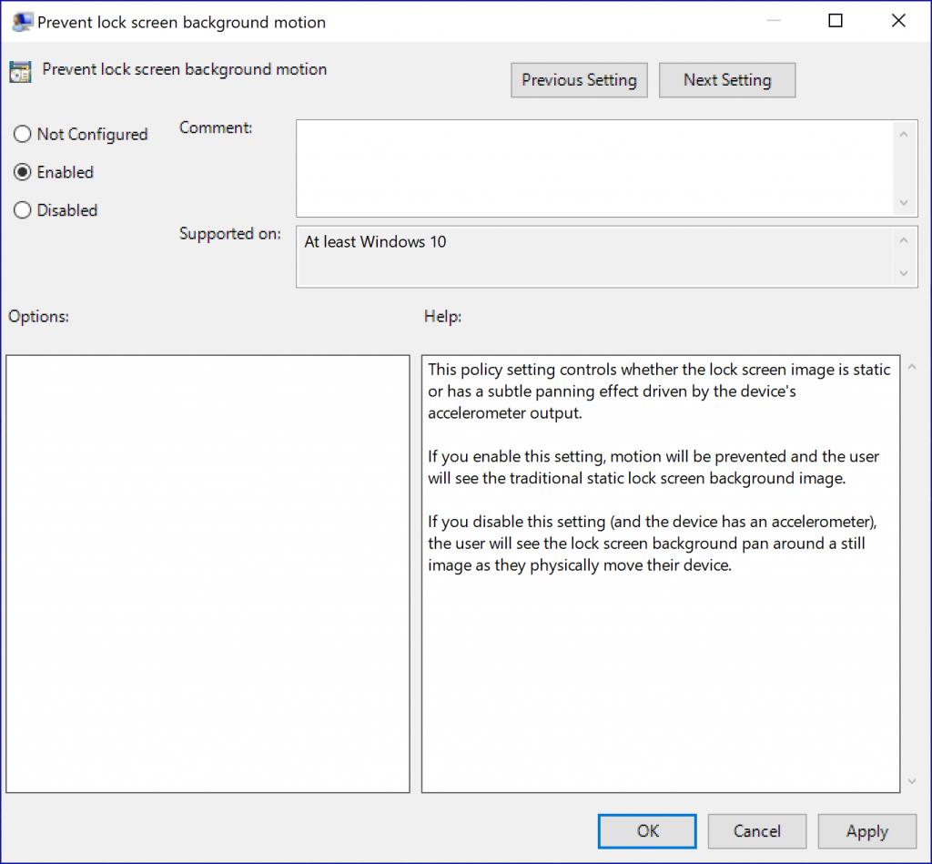 Windows 10动态锁屏将至?开关已曝光