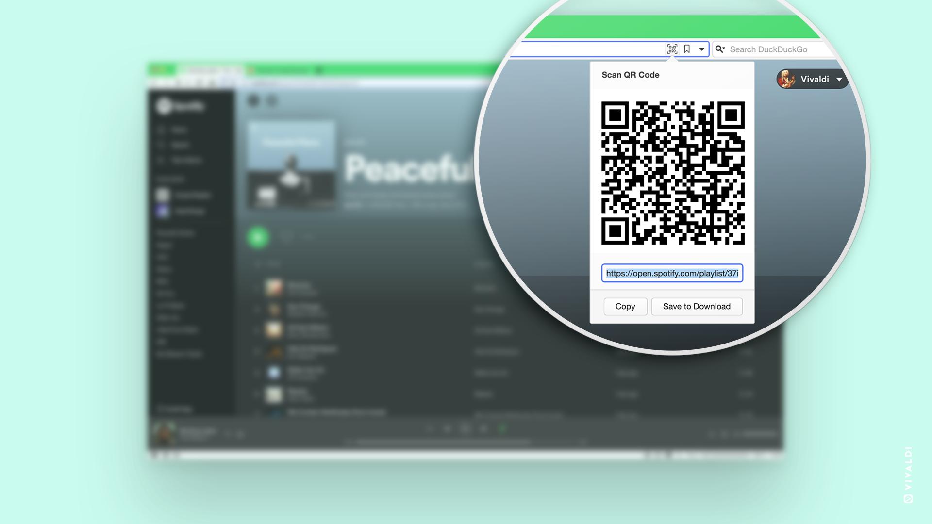 Vivaldi 浏览器v3.5发布:支持二维码分享网址