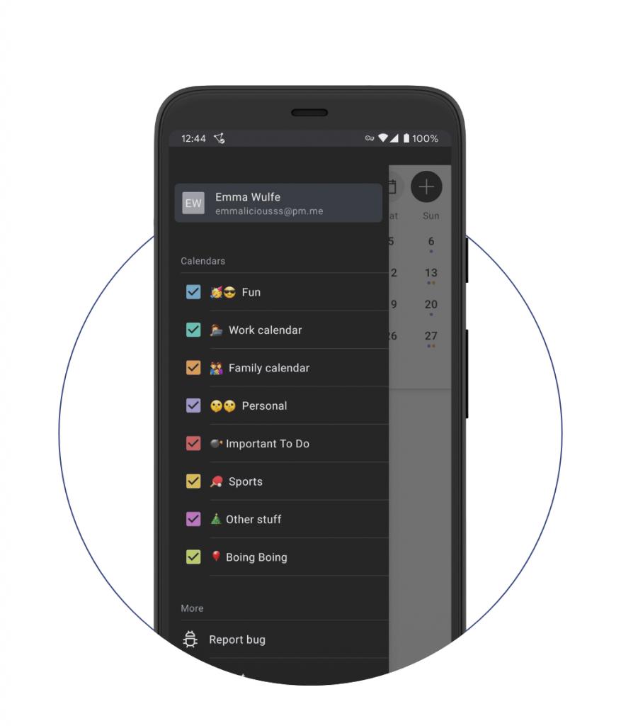 ProtonCalendar:ProtonMail推出的全新日历应用