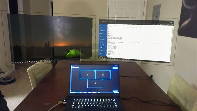 [视频] Mirage:创建漂浮空中的虚拟显示器