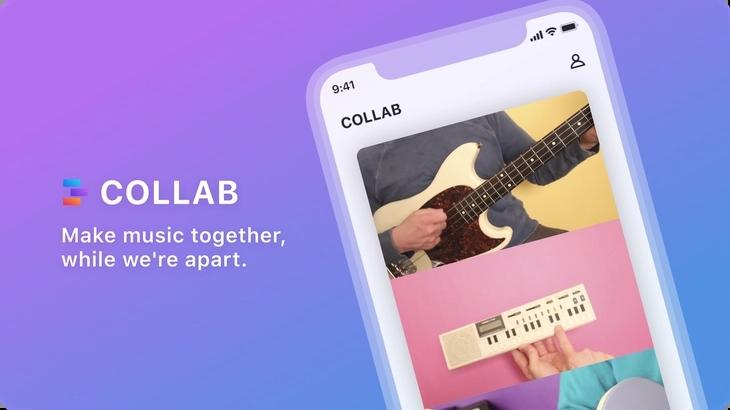 """脸书发布协作音乐视频应用""""Collab"""""""