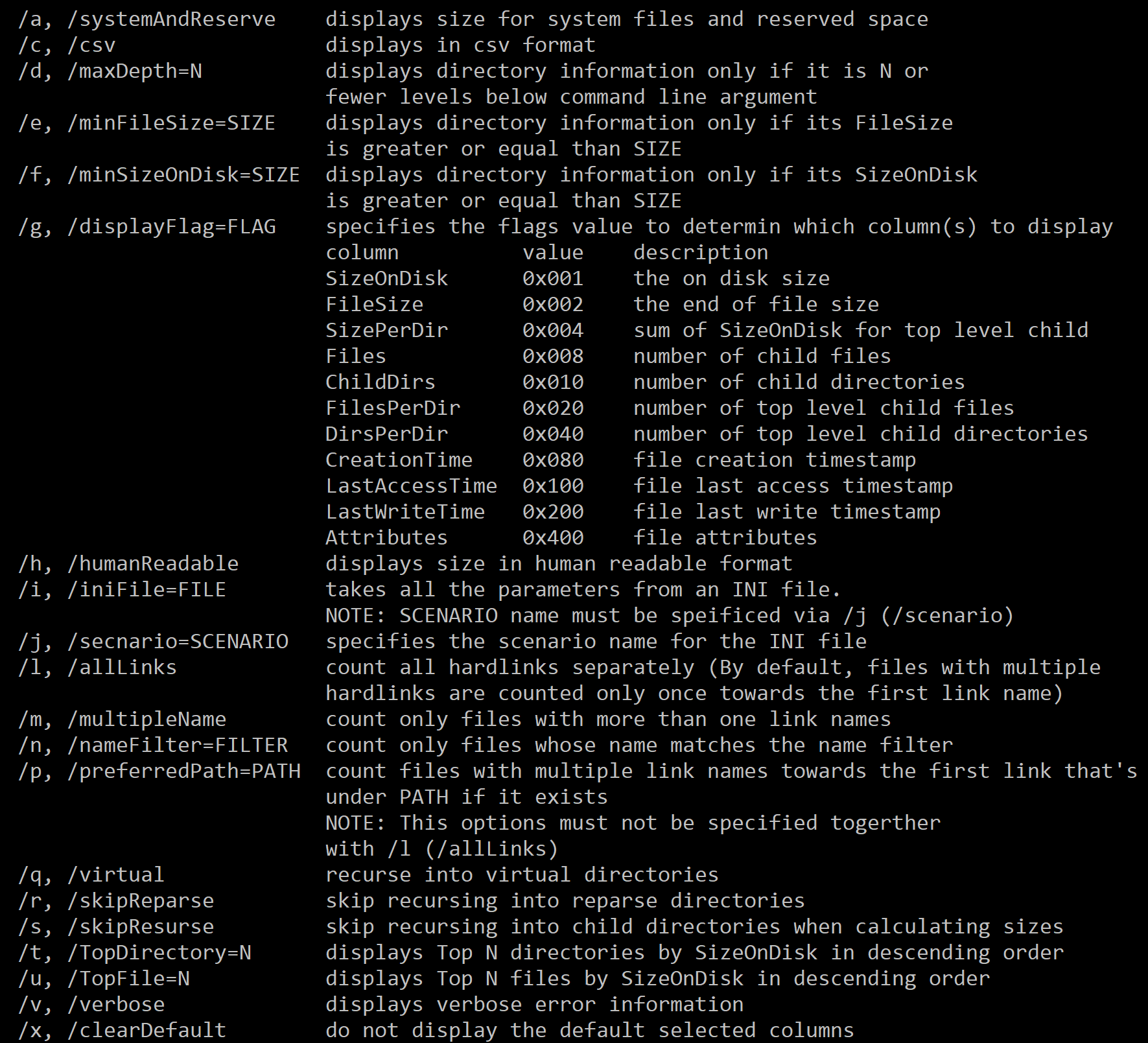 Win 10将新增磁盘查询命令行工具DiskUsage