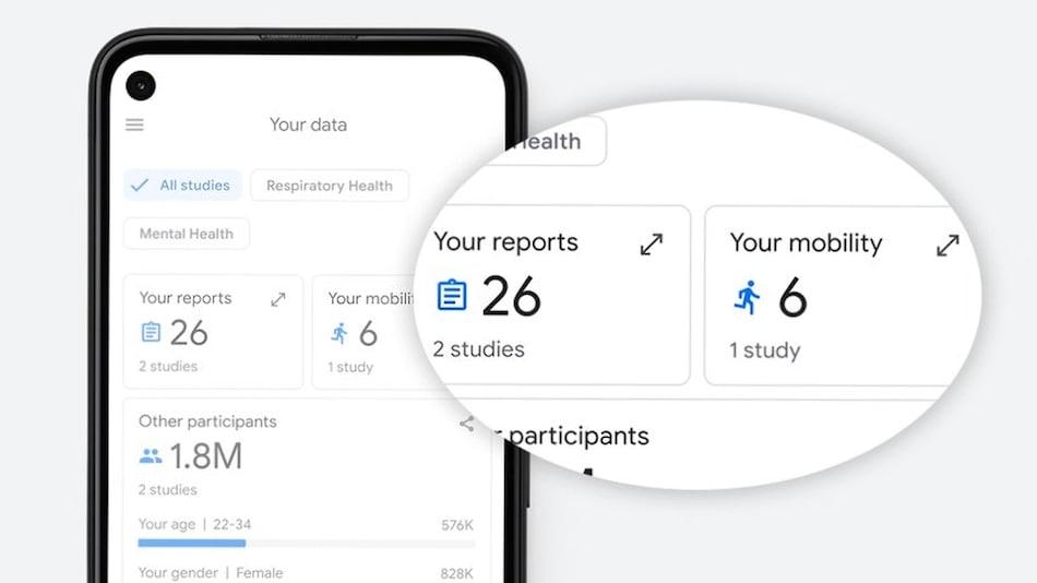 谷歌上架健康研究应用Google Health Studies