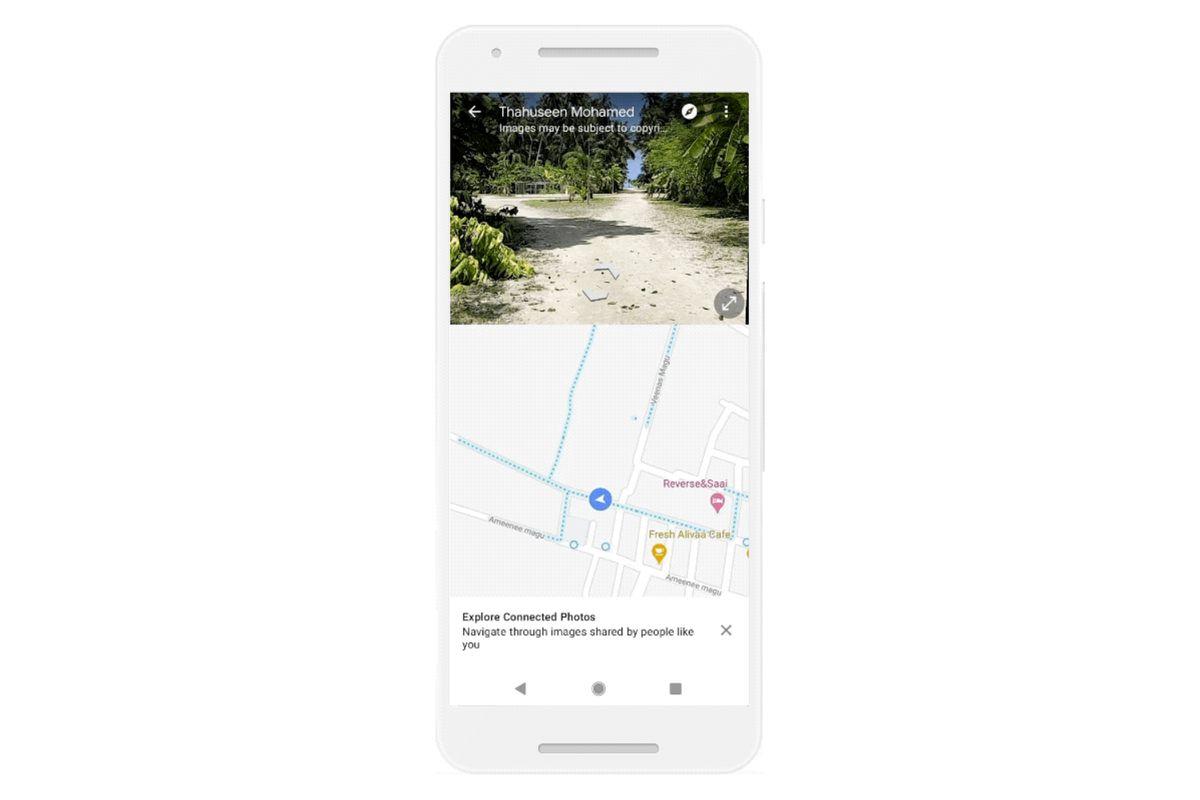 用户也能在谷歌地图上分享街景了
