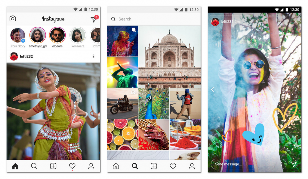 G网络都能用:Ins发布极速版应用Instagram