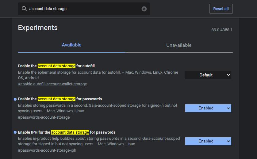 Chrome将支持不开启同步保存密码