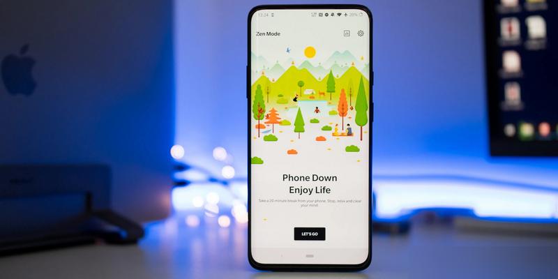 一加「禅模式」App更新:全新环境音