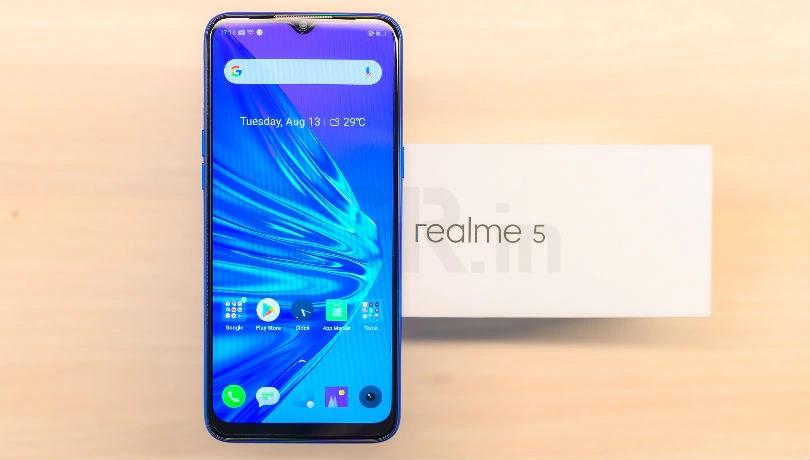 [海外] Realme 5/5i/5s推送更新:11月安全补丁和新功能