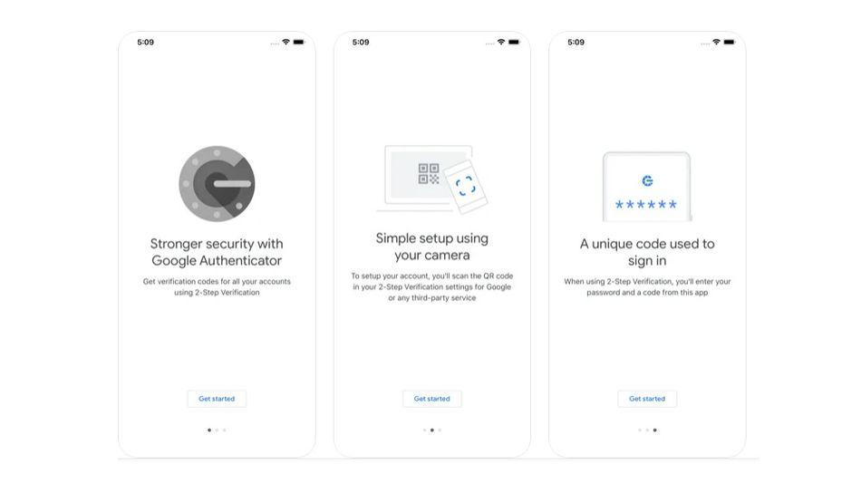 谷歌验证器iOS版更新:支持导出2FA码