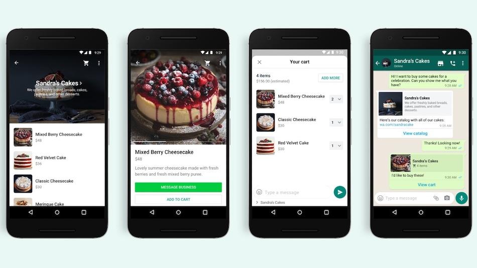 新增购物功能后,WhatsApp又推出了购物车
