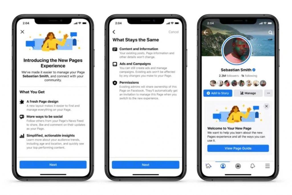 脸书宣布推出Facebook Pages(粉丝主页)新版本