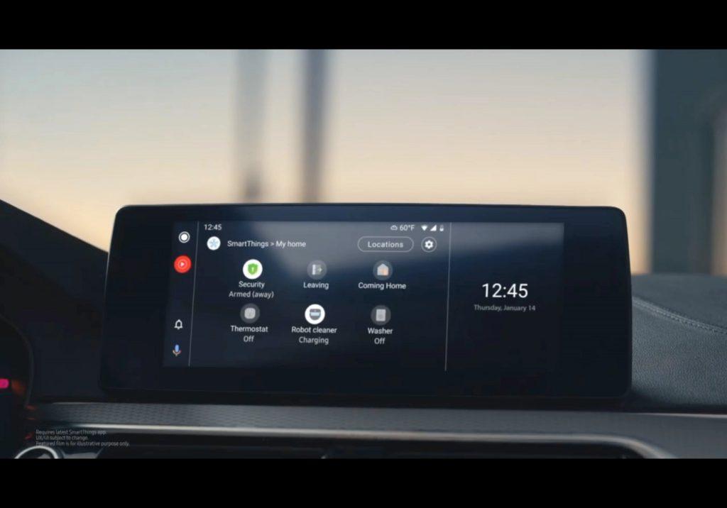 在车上关掉家中的灯:Android Auto宣布集成三星SmartThings