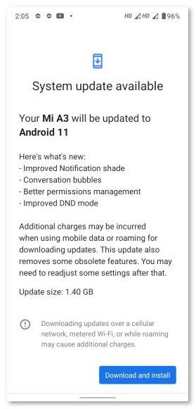 """小米A3更新""""翻车"""":升级Android 11后手机变砖"""