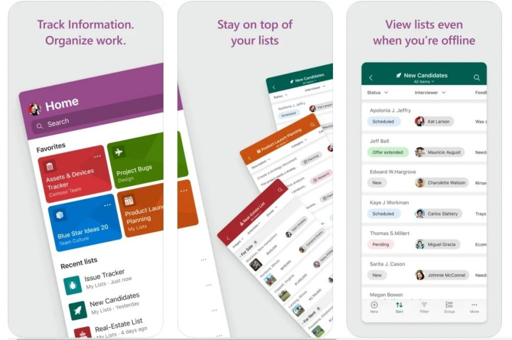 微软清单工具Microsoft Lists登陆App Store