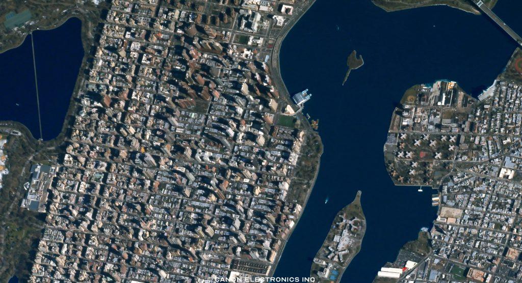 (图)用卫星为城市拍张照:佳能上线太空摄影网站