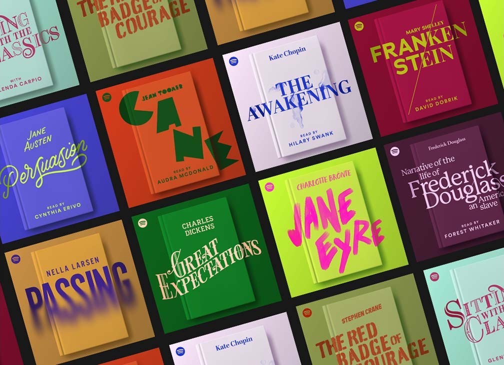 Spotify切入有声读物领域,已推出9本有声书