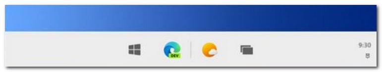 "Win 10X 任务栏将居中显示:支持""最近打开的应用"""