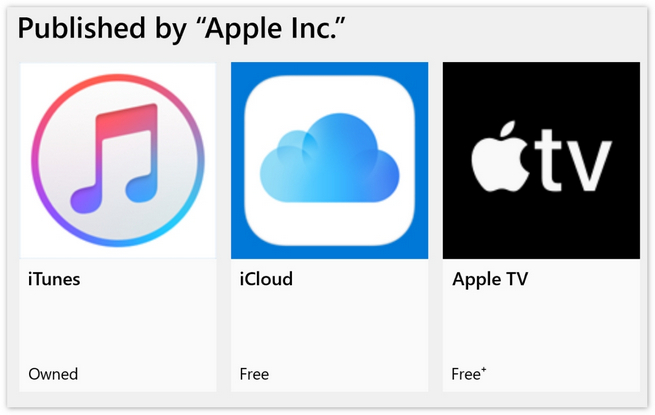 苹果将向微软商店上架新应用,或是Podcasts