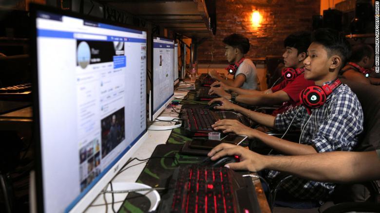 缅甸局势持续动荡,脸书系应用已被封禁