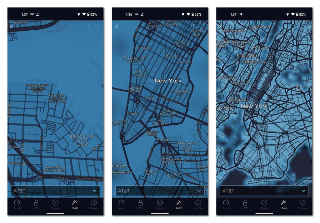 [APK] 测速应用Speedtest推全新网络覆盖地图:支持街道级别查询