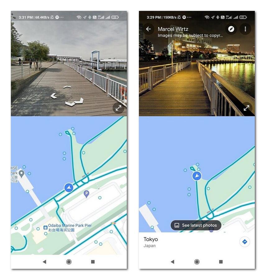 谷歌地图Android版推出分屏街景界面