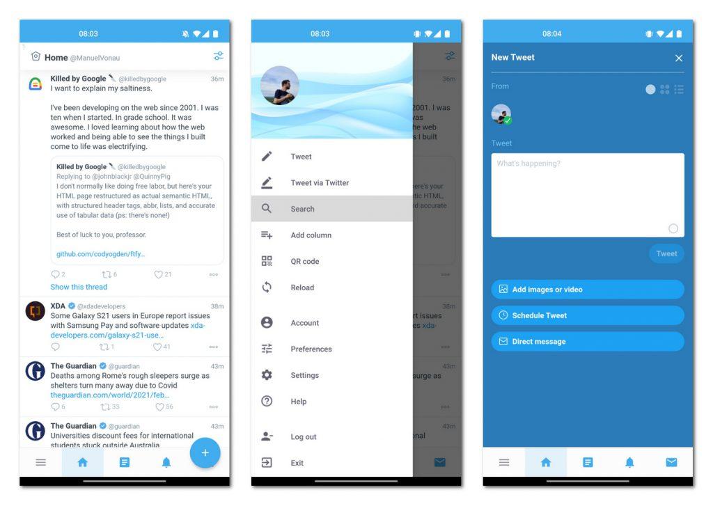 MarinDeck:小巧的推特第三方客户端,将TweetDeck带到手机上