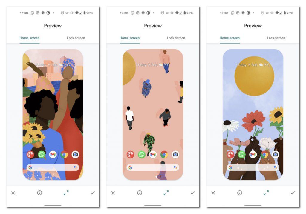 谷歌发布手机壁纸纪念黑人历史月