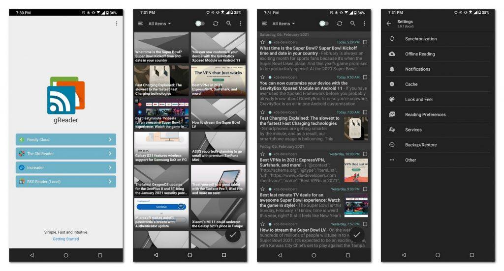 中断更新4年后,RSS阅读器gReader发布全新版本