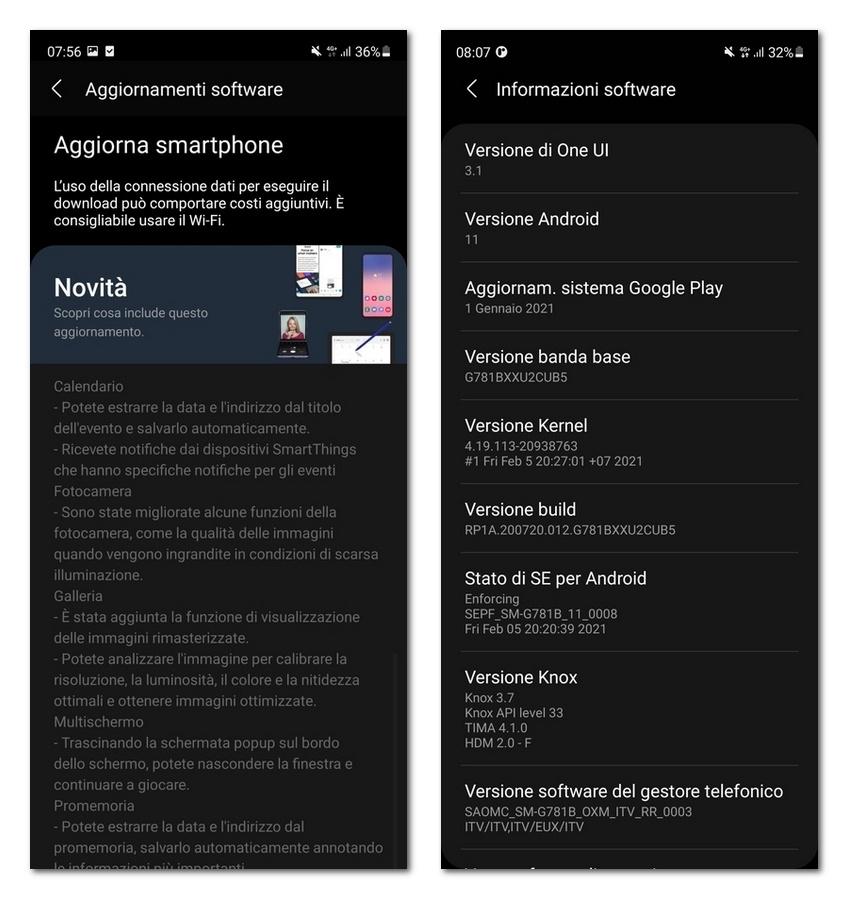 三星Galaxy S20 FE迎来One UI 3.1升级