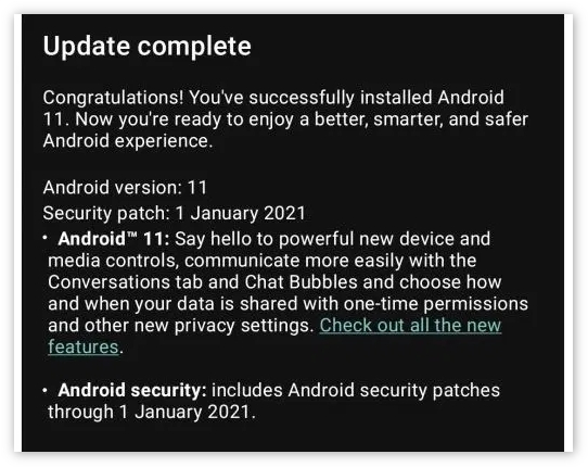 摩托罗拉为Moto G Pro推送Android 11升级