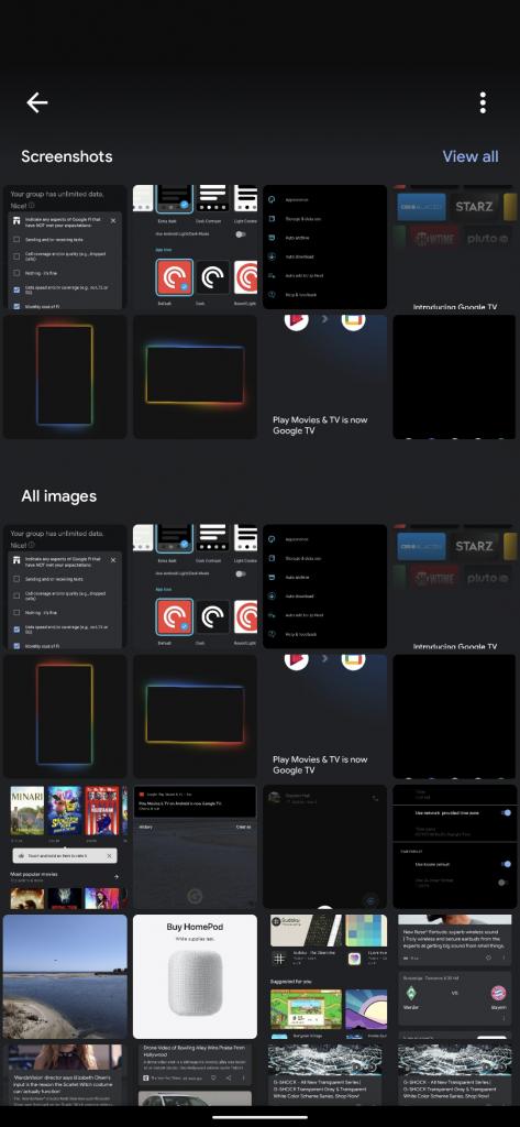 谷歌智能识图应用Google Lens迎来图库模式