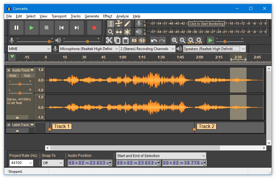 开源音频剪辑工具Audacity 3.0发布:全新的AUP3文件格式