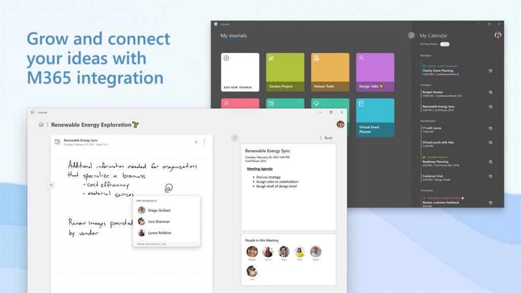 微软手绘应用Journal更新:支持打印和墨水颜色自定义