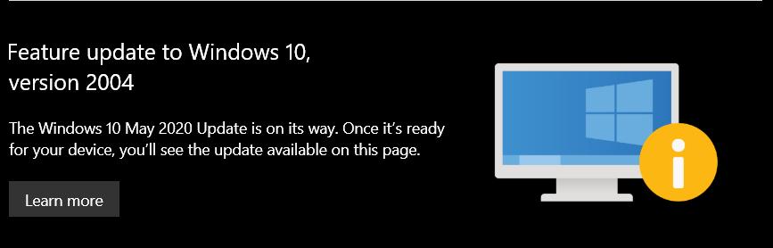 Windows 10可能会更新