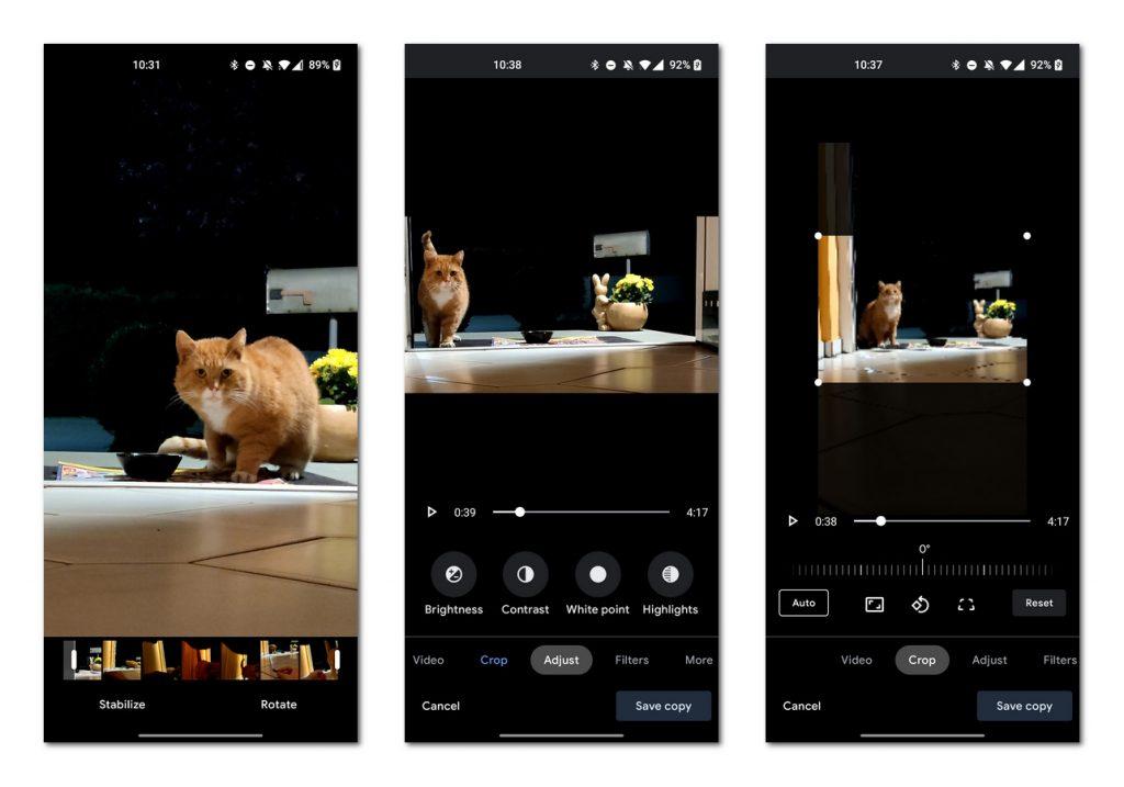 谷歌相册Android版迎来全新视频编辑器