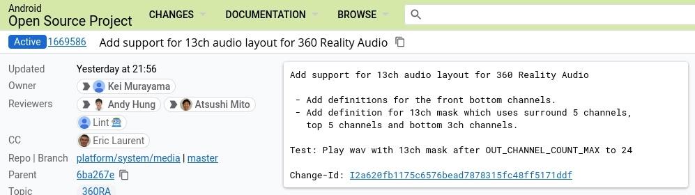 Android系统有望支持索尼「360 临场音效」